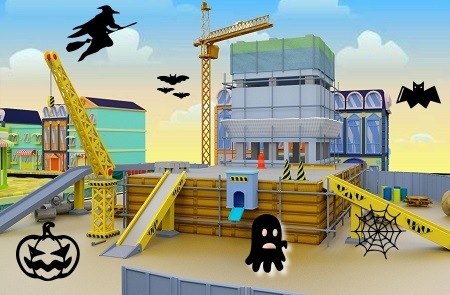 Spooky Construction sites from around the world!!
